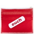 Mesh 3 Zipper Case-Red with White Band-Aid copy