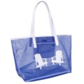 Mesh Madison Tote-Navy with White Adirondack Chairs copy